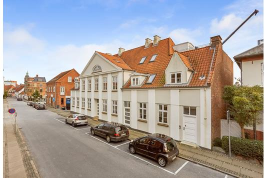 Detail på Korsgade i Svendborg - Andet