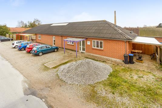 Kontor på Nymarksvej i Nyborg - Facade