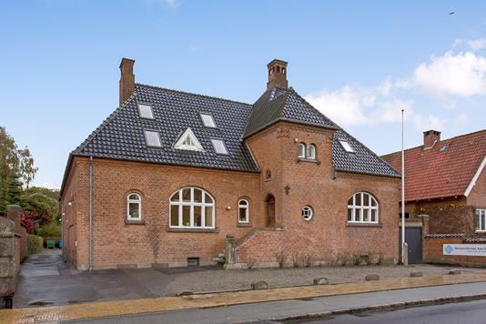 Kontor på Læssøegade i Odense C - Facade