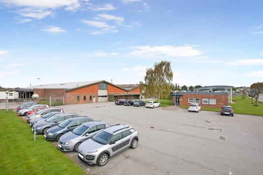 Produktion/lager på Lollandsvej i Middelfart - Facade