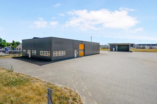 Produktion/lager på Fabriksvej i Odense S - Ejendommen