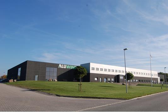 Produktion/lager på Kielbergvej i Ringe - Facade