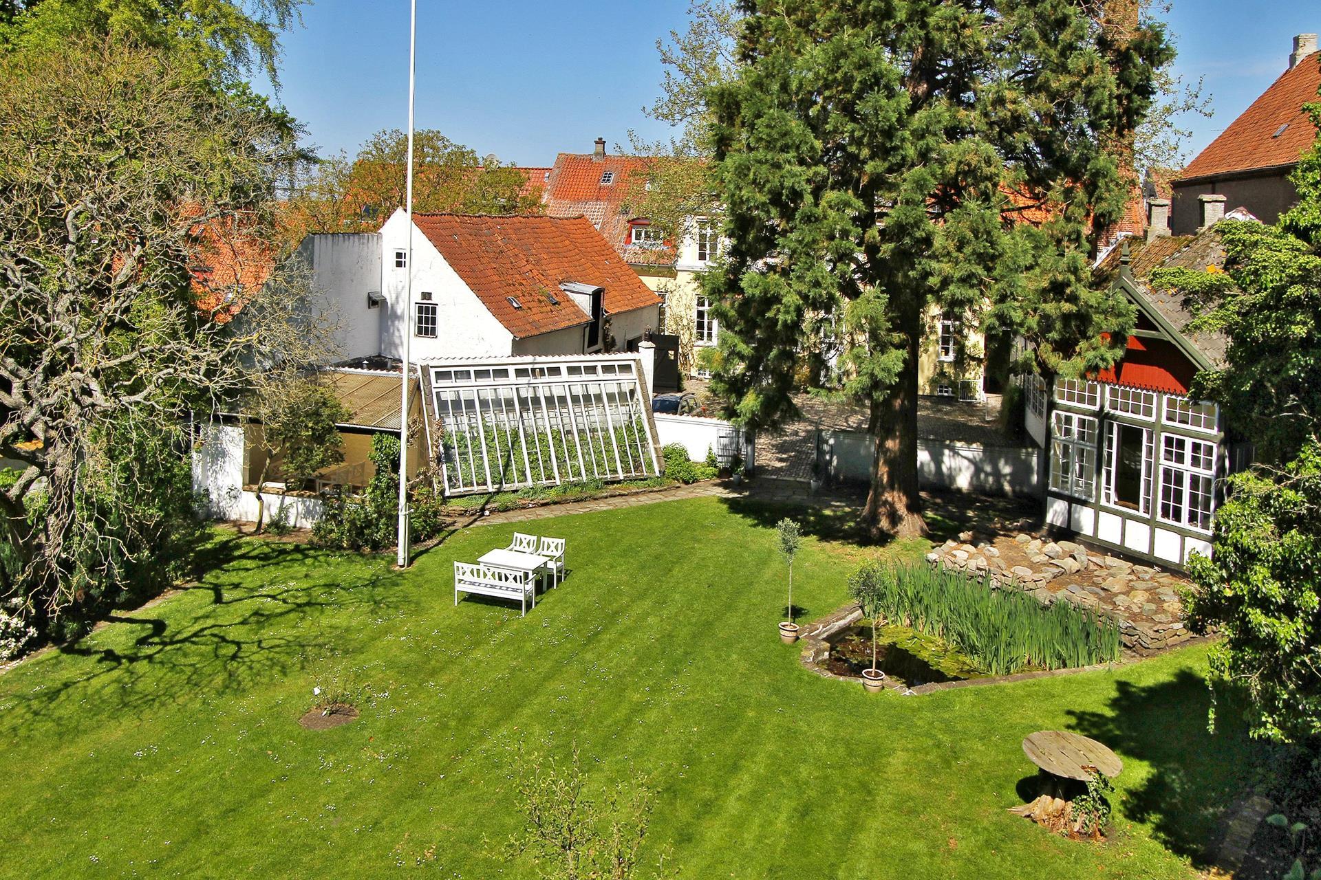 Bolig/erhverv på Brogade i Rudkøbing - Have
