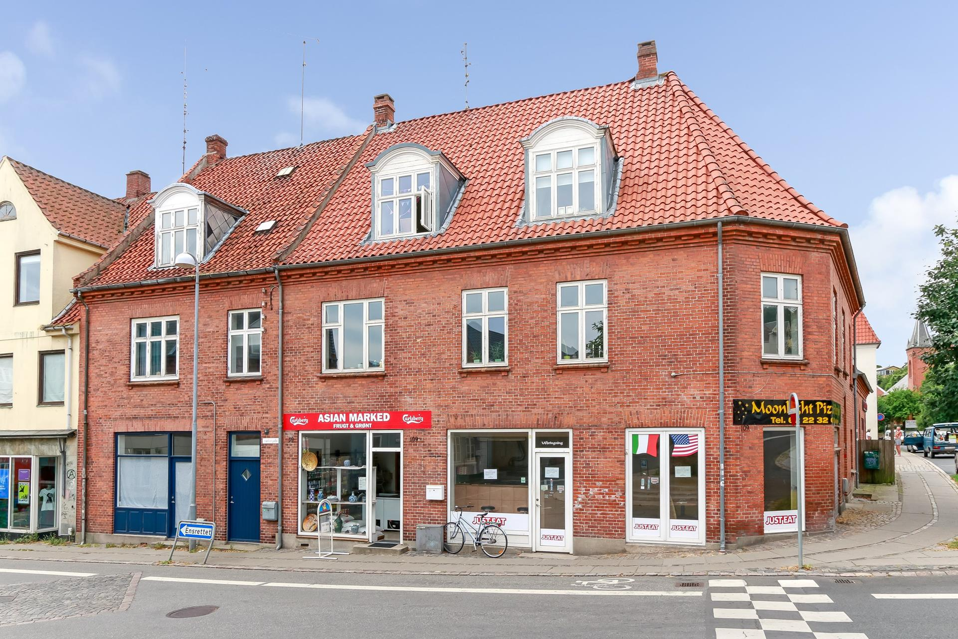 Bolig/erhverv på Møllergade i Svendborg - Ejendommen