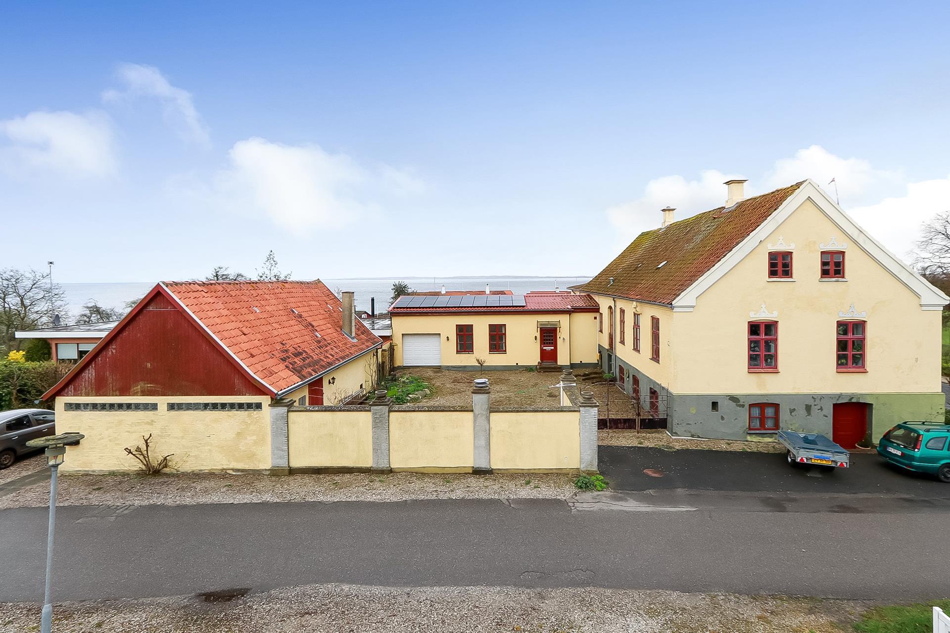 Bolig/erhverv på Havnevej i Hesselager - Ejendommen