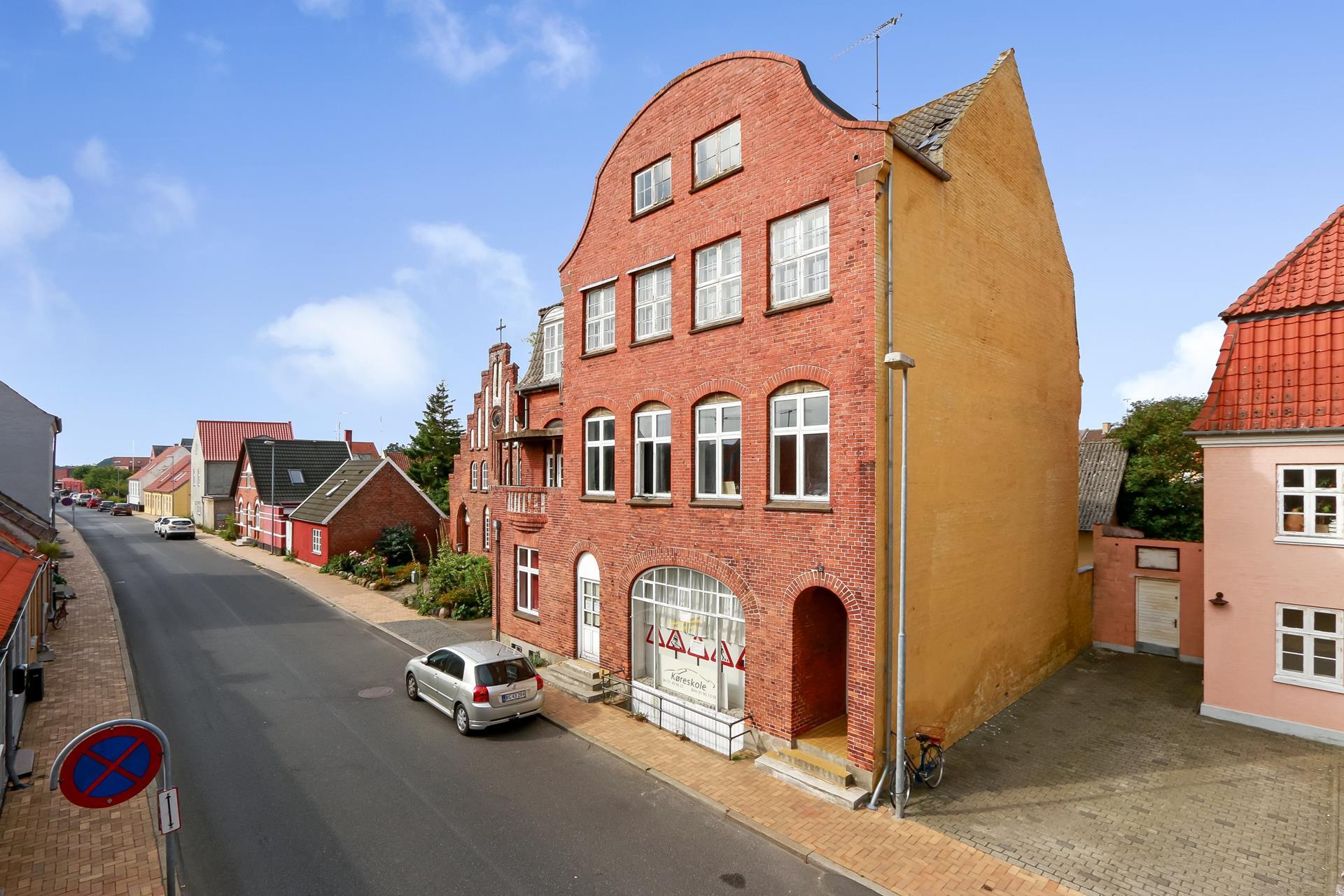 Bolig/erhverv på Ahlefeldtsgade i Rudkøbing - Område