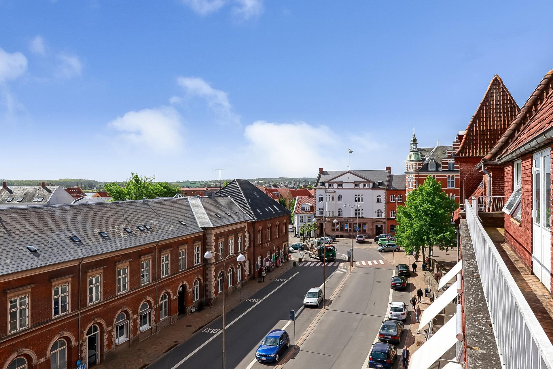 Bolig/erhverv på Klosterplads i Svendborg - Område