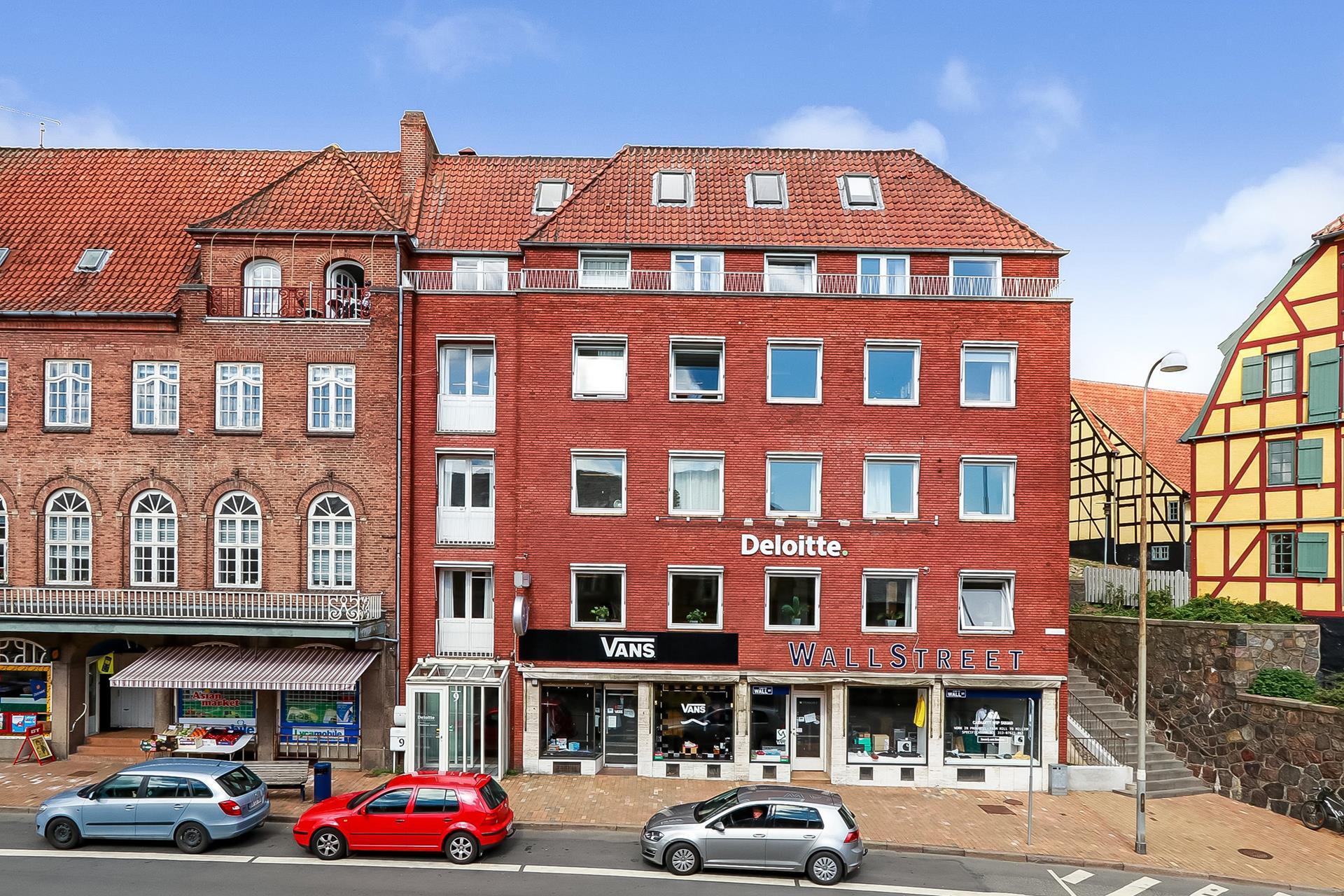 Bolig/erhverv på Klosterplads i Svendborg - Ejendommen