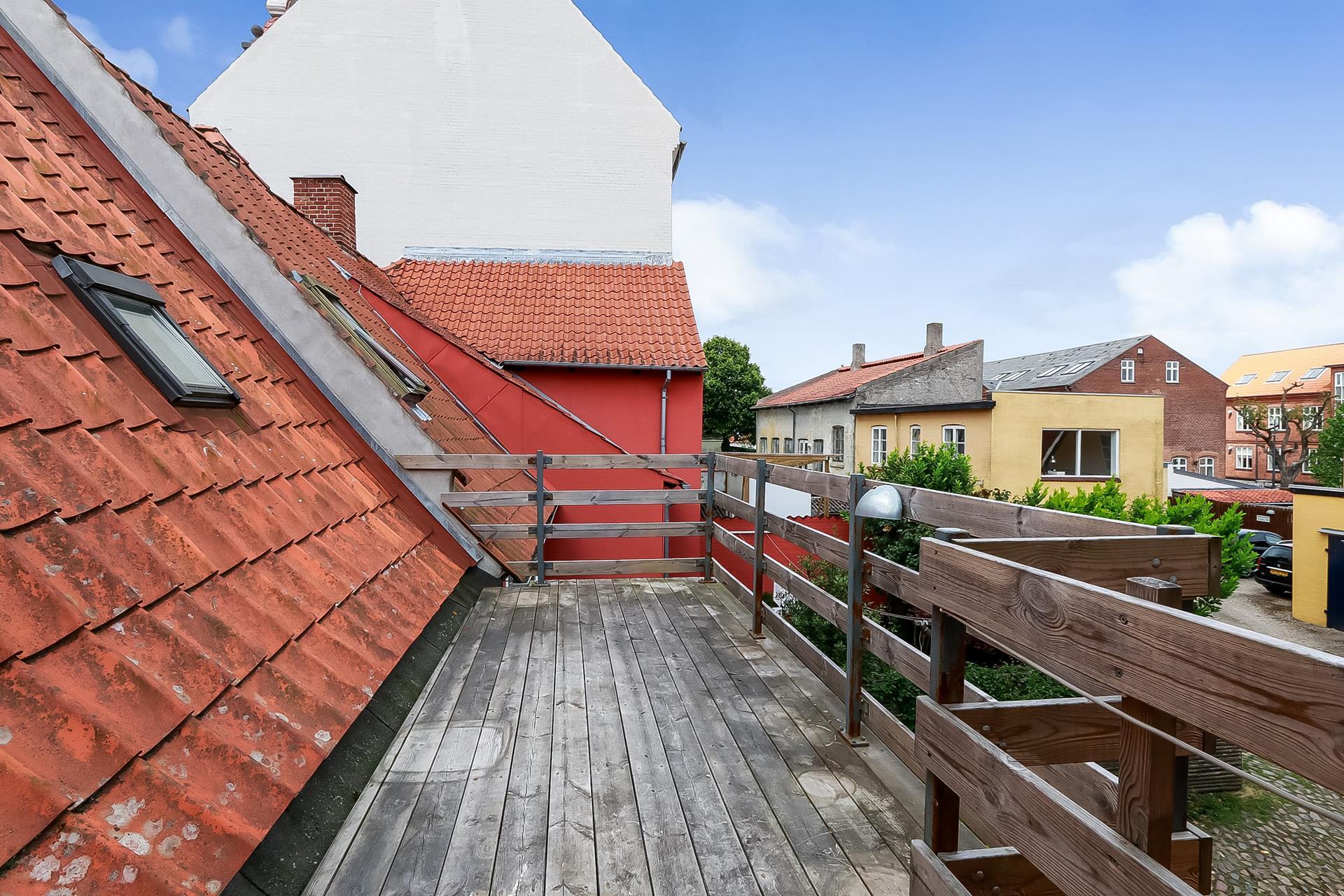 Bolig/erhverv på Østergade i Faaborg - Ejendommen