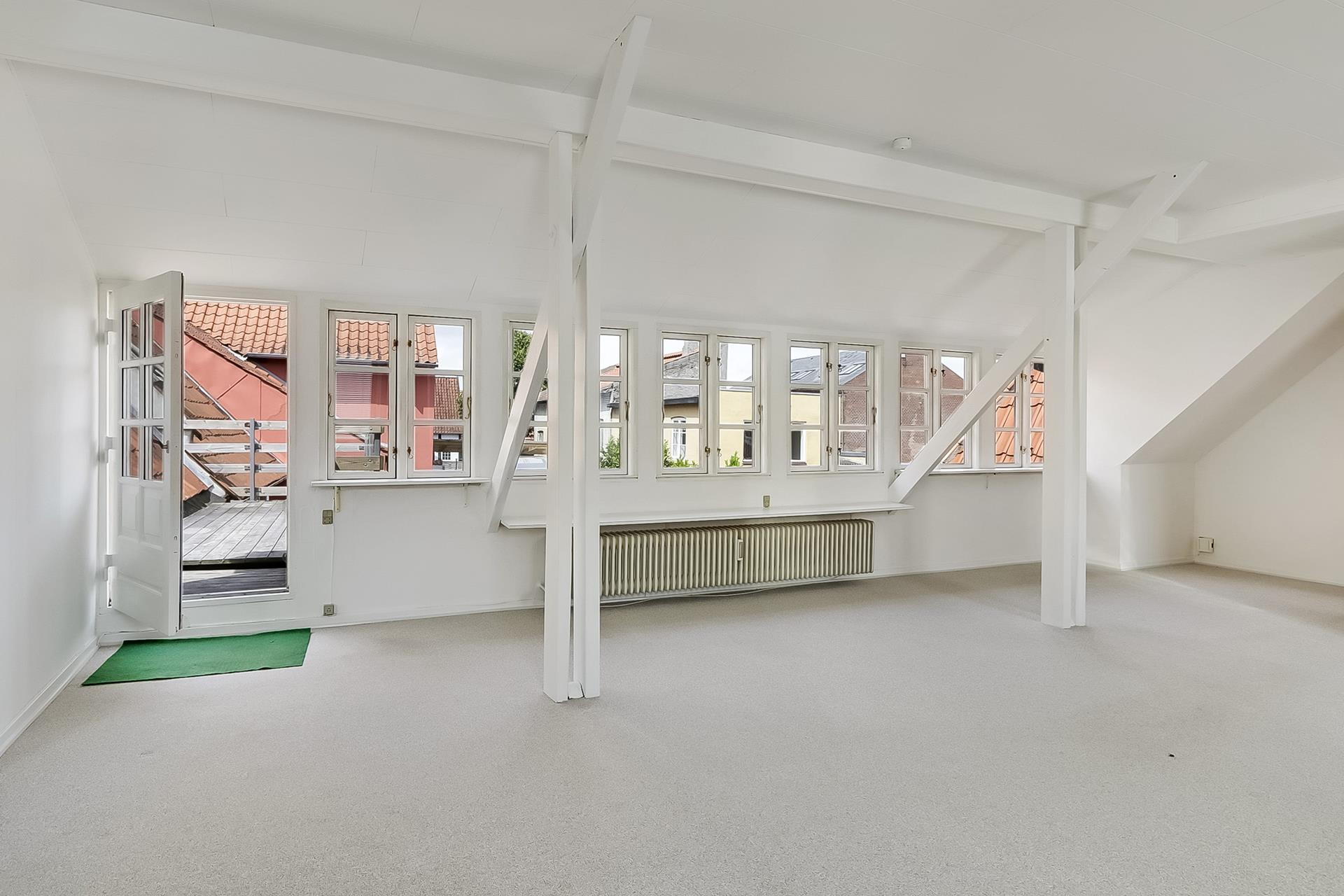 Bolig/erhverv på Østergade i Faaborg - Stue
