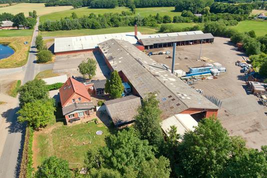 Produktion/lager på Gemalvej i Stenstrup - Andet