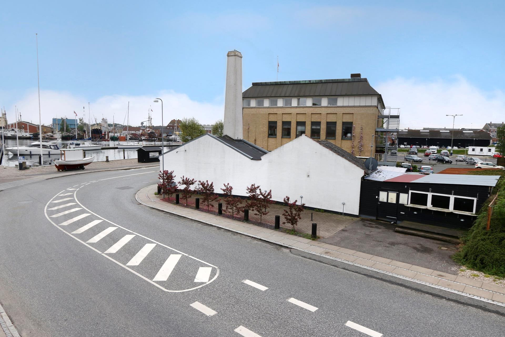 Bolig/erhverv på Jessens Mole i Svendborg - Mastefoto