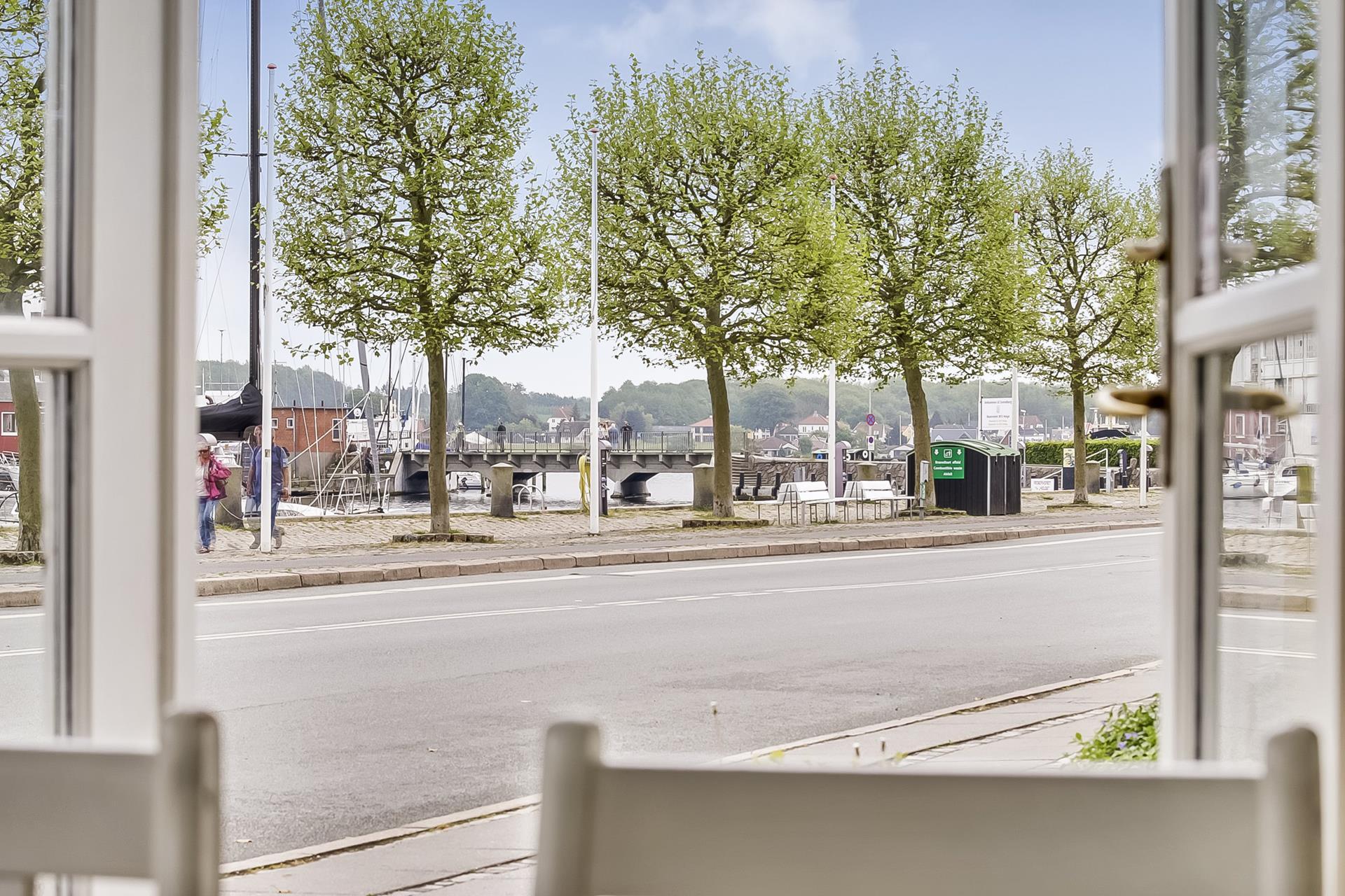 Bolig/erhverv på Jessens Mole i Svendborg - Udsigt