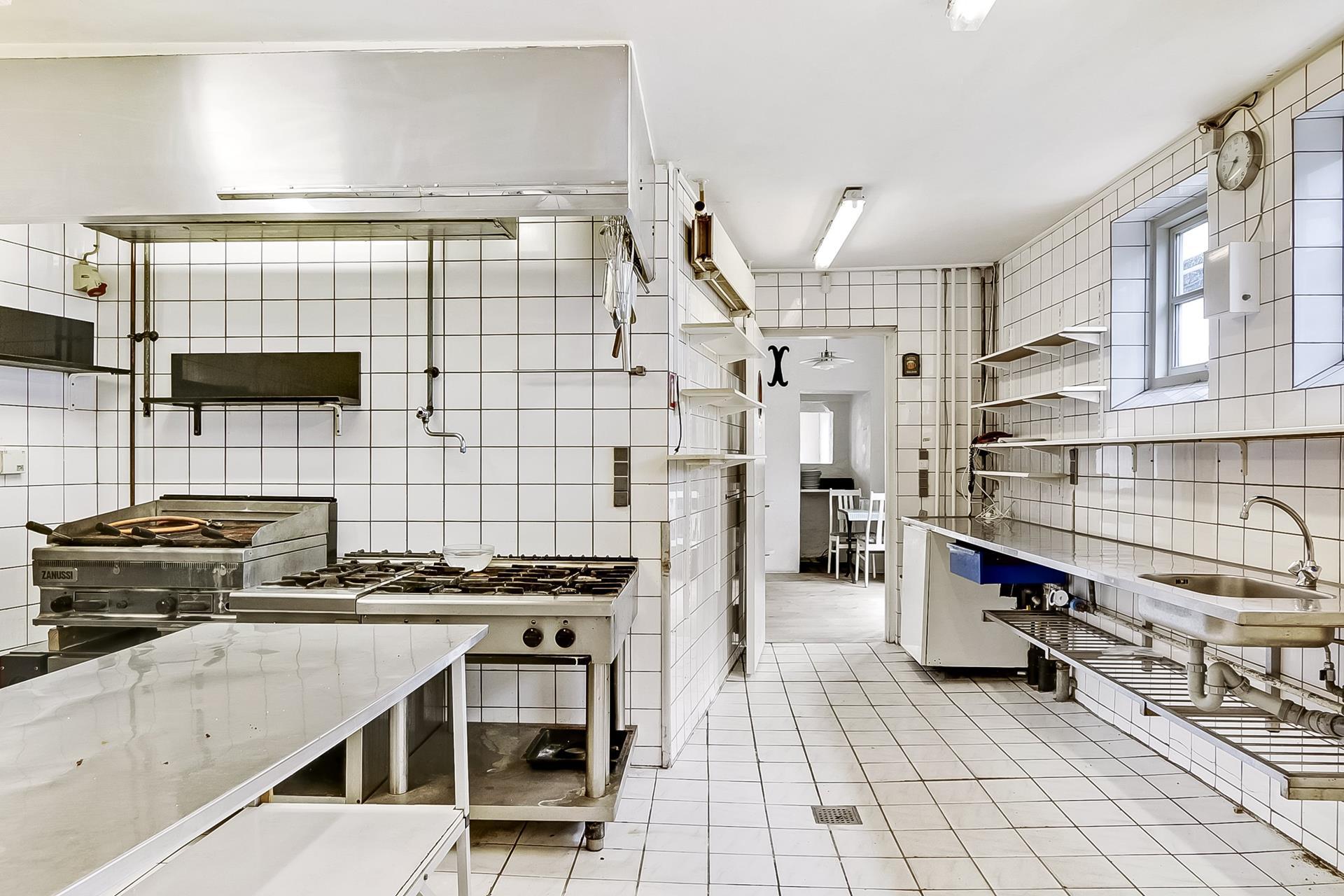 Bolig/erhverv på Jessens Mole i Svendborg - Køkken