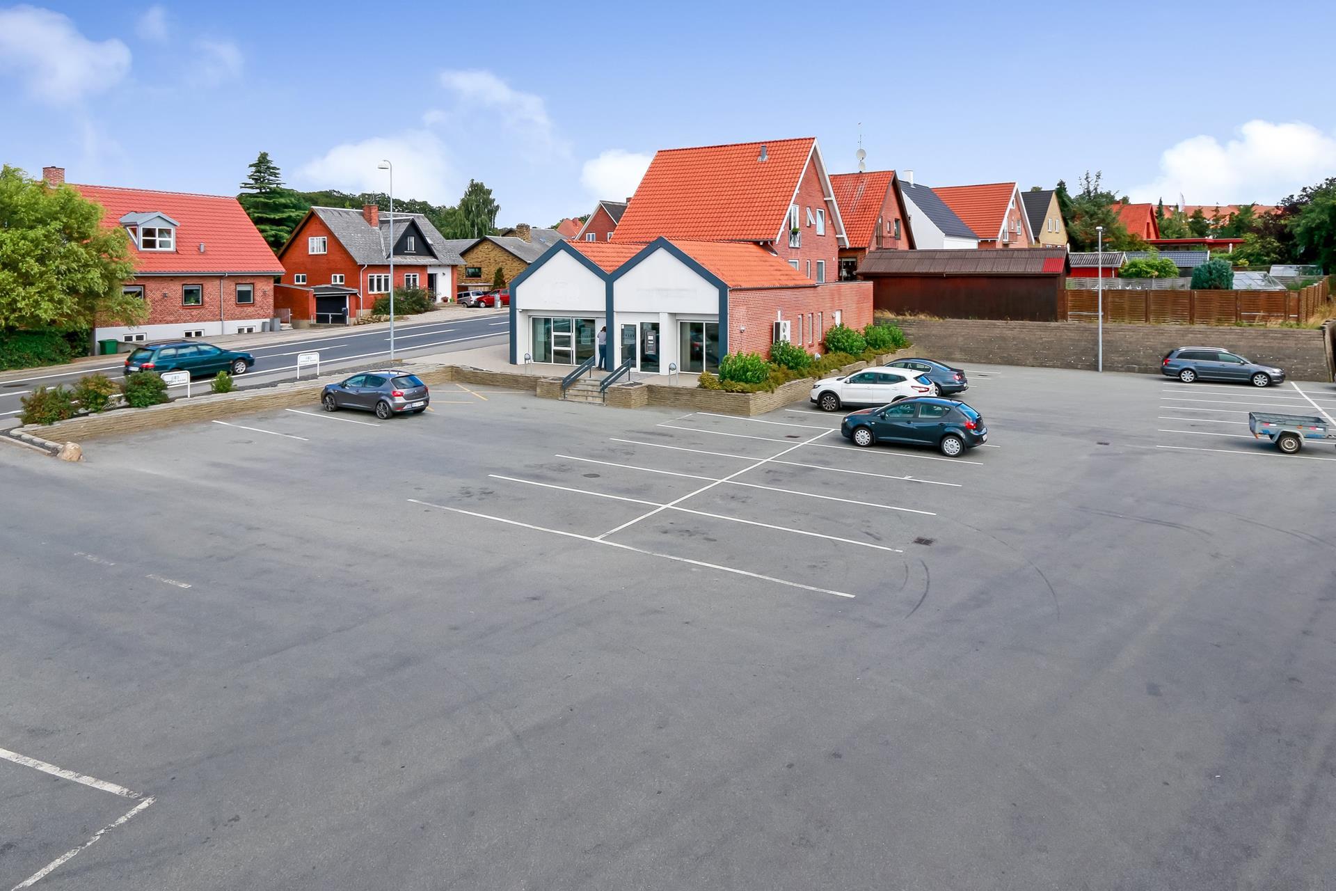Bolig/erhverv på Mølmarksvej i Svendborg - Ejendommen