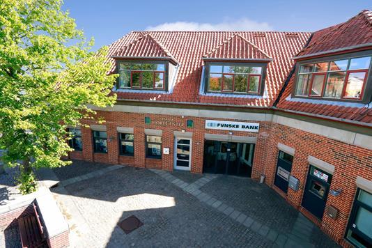 Kontor på Østerport i Rudkøbing - Ejendommen