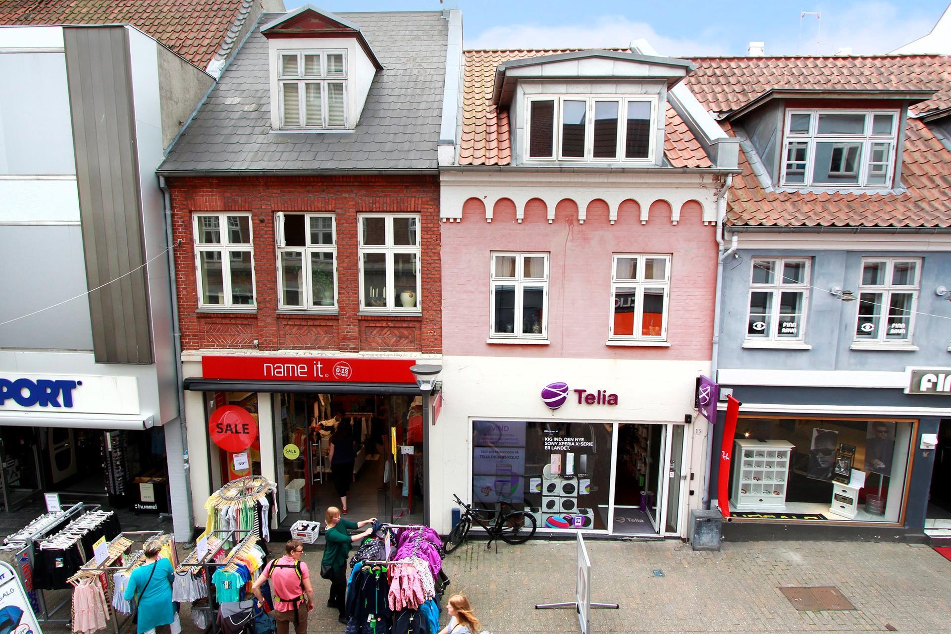 Detail på Gerritsgade i Svendborg - Andet