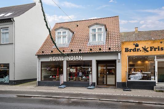 Bolig/erhverv på Algade i Roskilde - Ejendommen