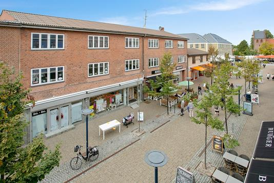 Bolig/erhverv på Centrumgaden i Ballerup - Ejendommen