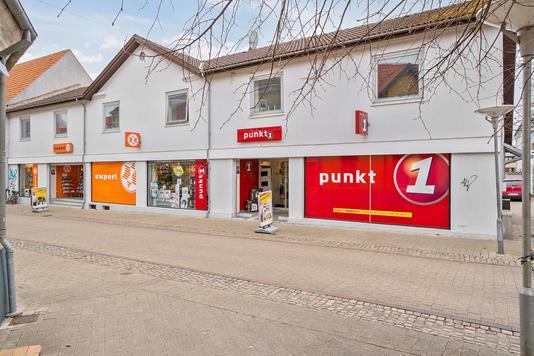 Bolig/erhverv på Algade i Nykøbing Sj - Ejendommen