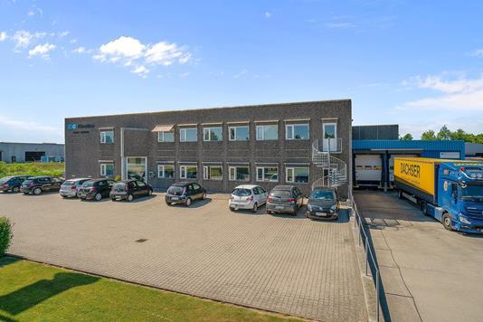 Produktion/lager på Sandvadsvej i Køge - Ejendommen