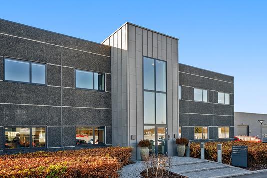 Kontor/lager på Industrivej i Bjæverskov - Ejendommen