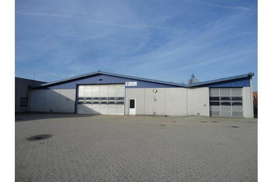 Produktion/lager på Bytoften i Roskilde - Ejendommen