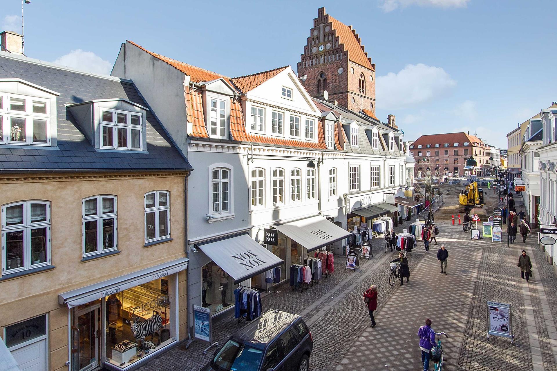 Bolig/erhverv på Skomagergade i Roskilde - Ejendommen