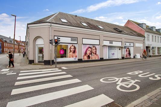 Detail på Allehelgensgade i Roskilde - Erhverv