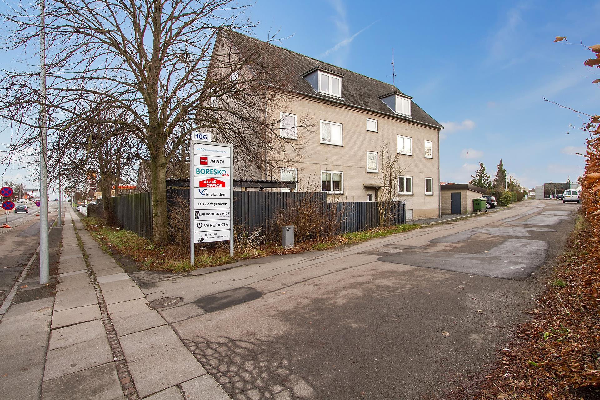 Boligudlejning på Københavnsvej i Roskilde - Ejendommen