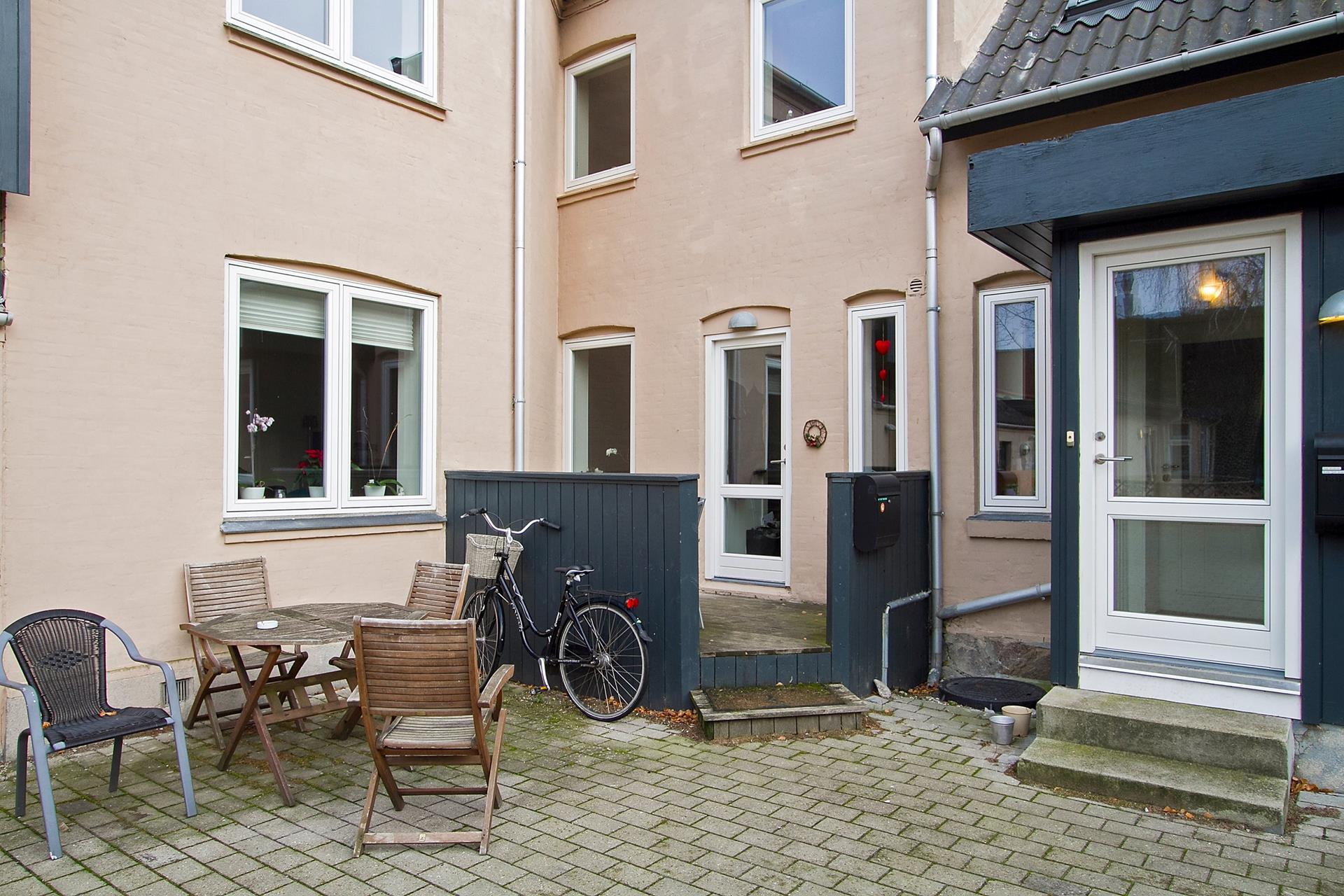 Boligudlejning på Ringstedgade i Roskilde - Terrasse