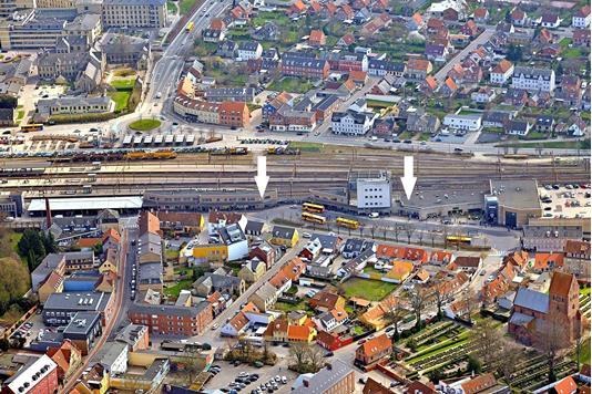 Detail på Stationscentret i Roskilde - Andet