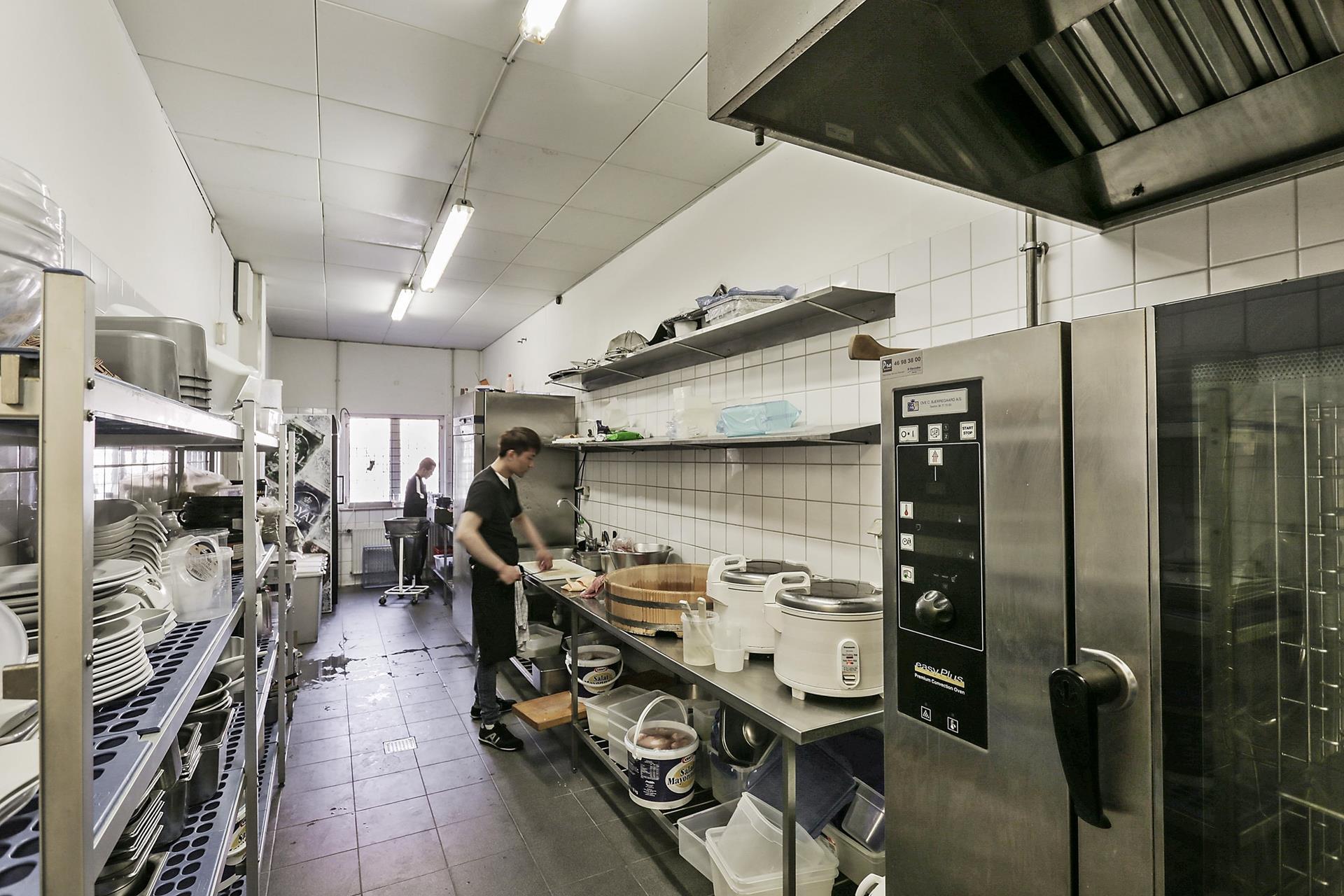 Bolig/erhverv på Vestergade i Køge - Køkken