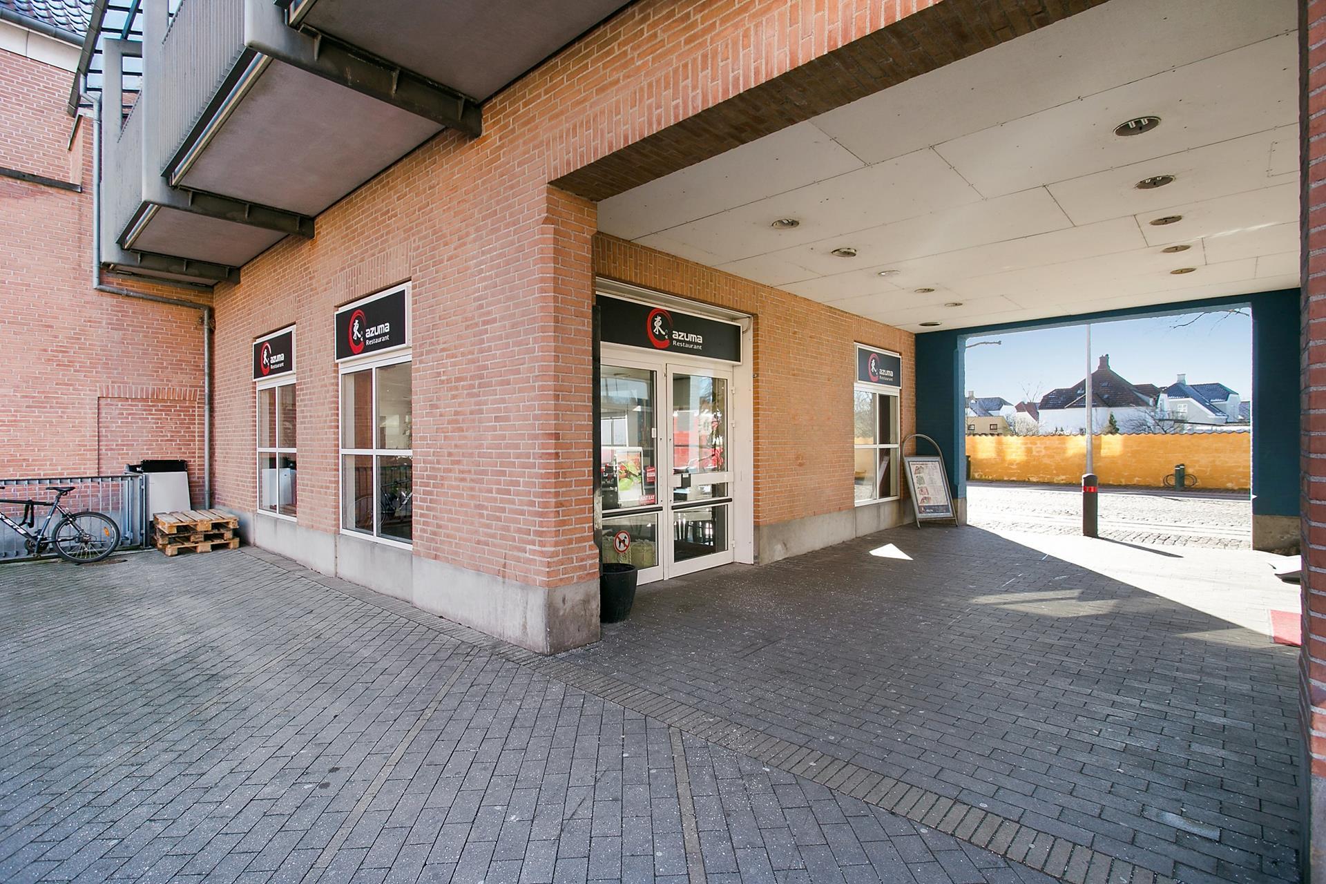 Bolig/erhverv på Vestergade i Køge - Standard udendørs