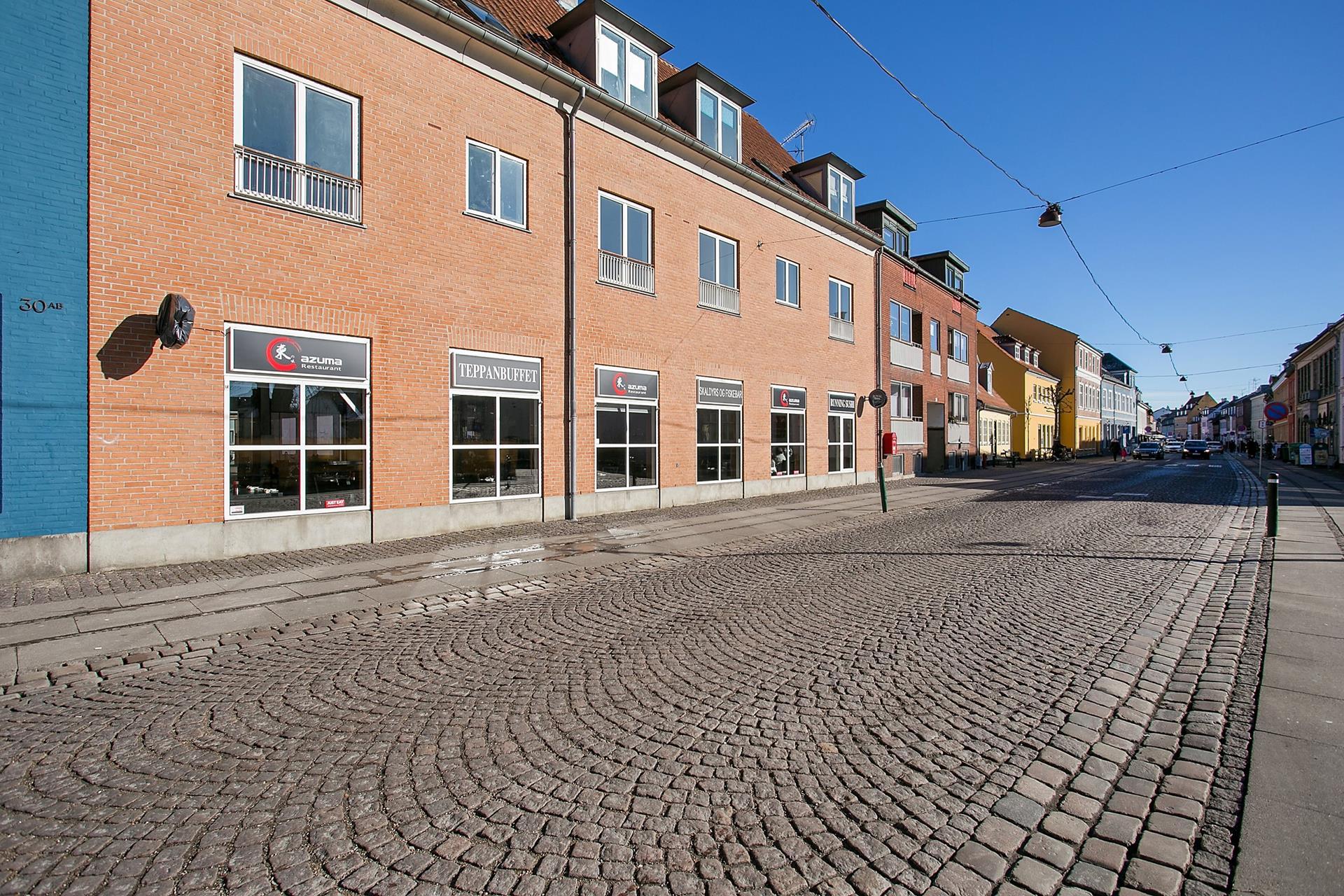 Bolig/erhverv på Vestergade i Køge - Ejendommen
