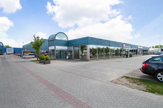 Produktion/lager på Tangmosevej i Køge - Ejendommen