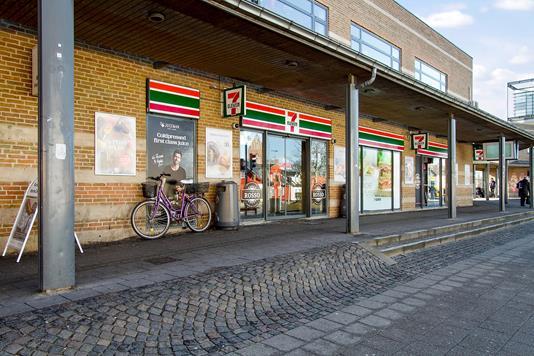 Detail på Stationscentret i Roskilde - Forretning