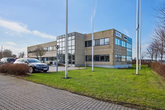 Kontor på Lykkegårdsvej i Roskilde - Ejendommen