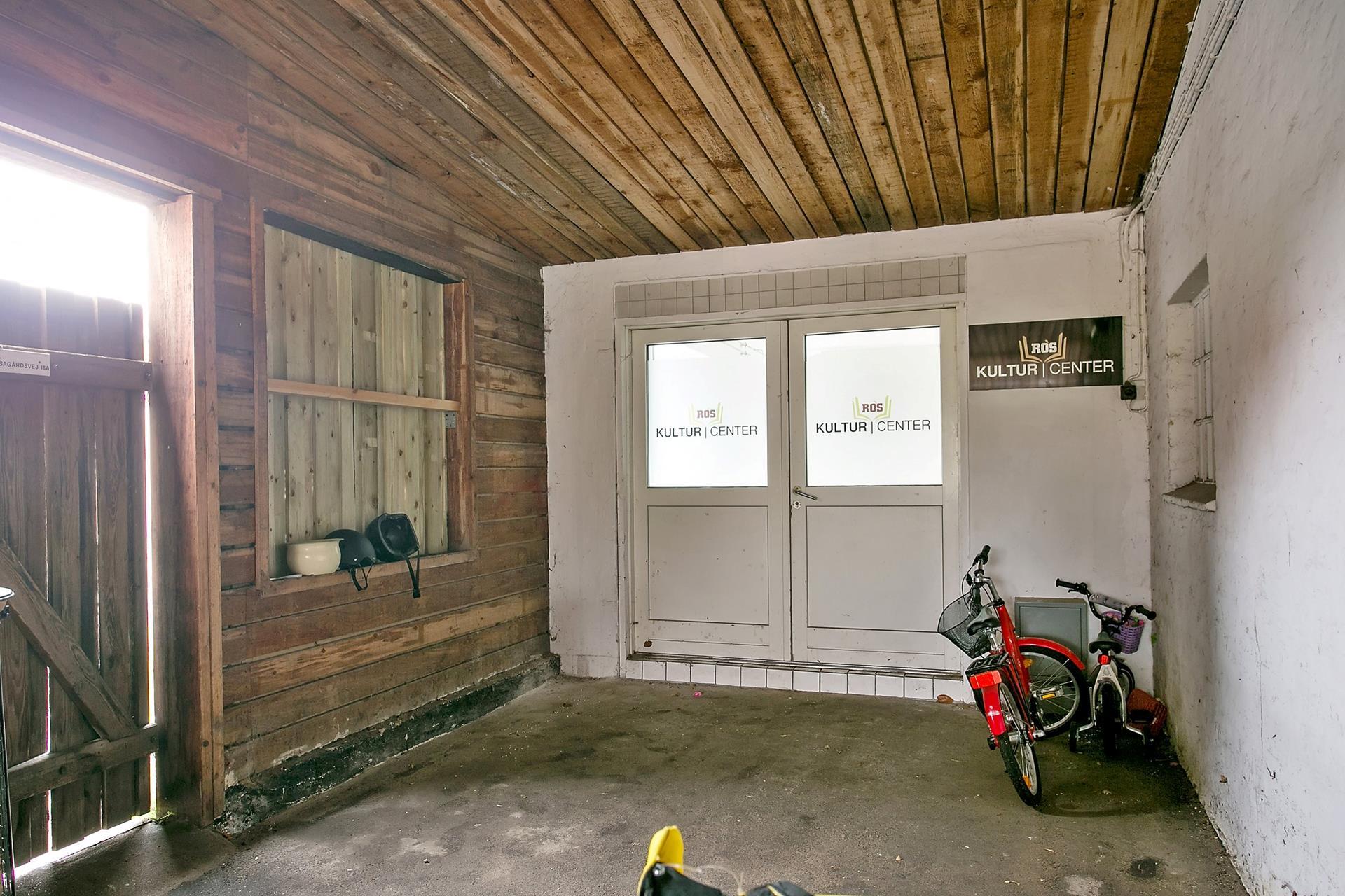 Bolig/erhverv på Elisagårdsvej i Roskilde - Garage