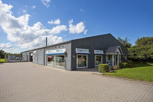 Produktion/lager på Bækgårdsvej i Borup - Ejendommen