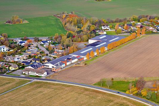 Produktion/lager på Hellestedvej i Hårlev - Ejendommen