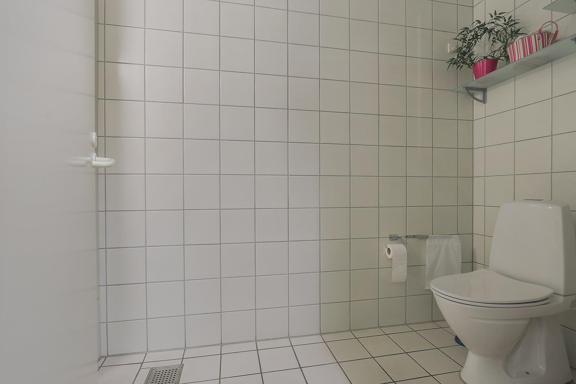 Detail på Vestergade i Køge - Toilet