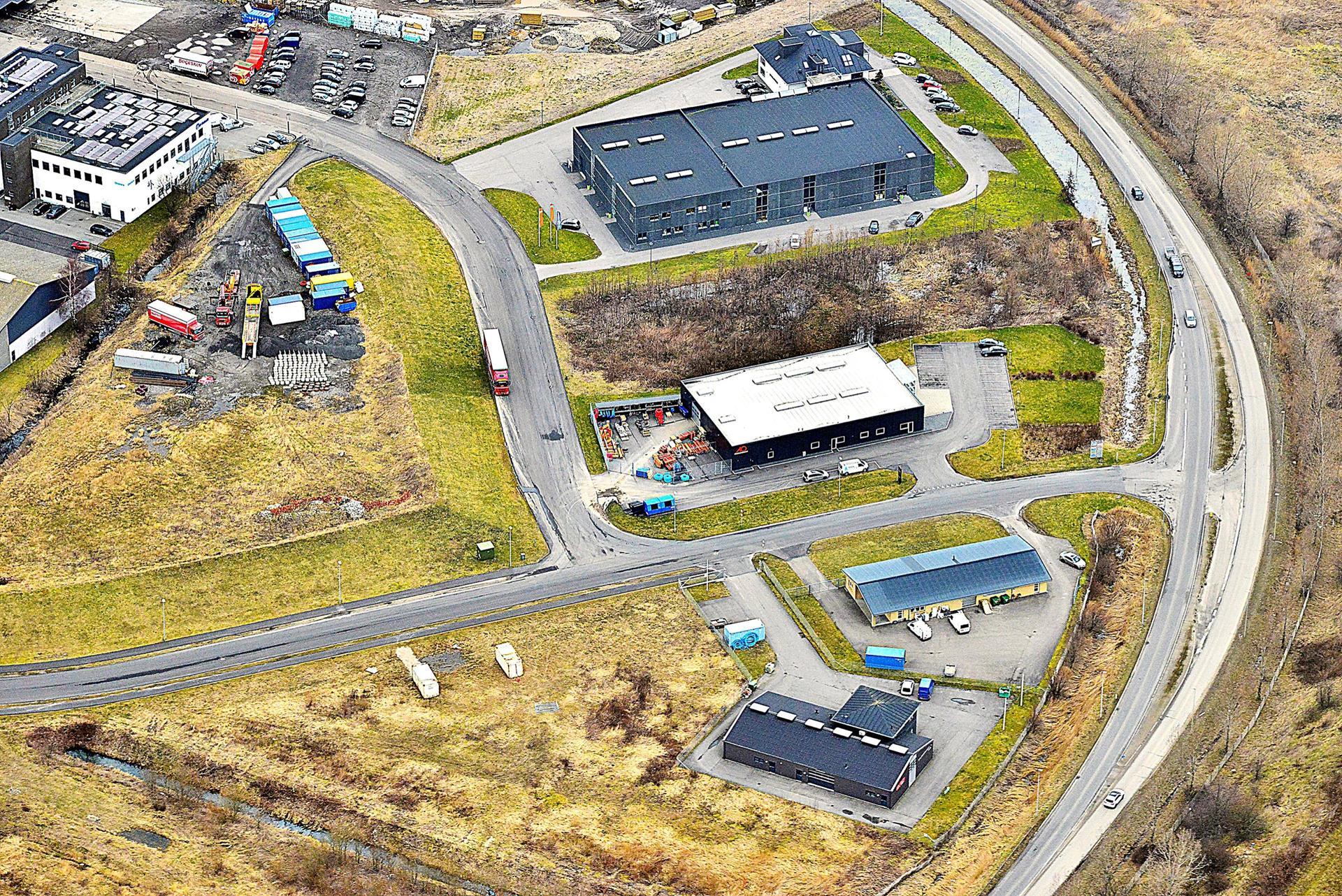 Erhvervsgrund på Valdemarshaab i Køge - Grund