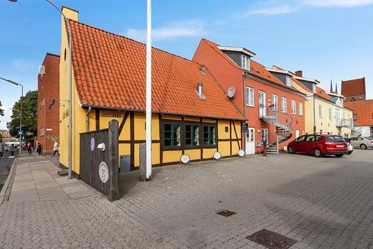 Restauration på Borchsgade i Roskilde - Ejendommen