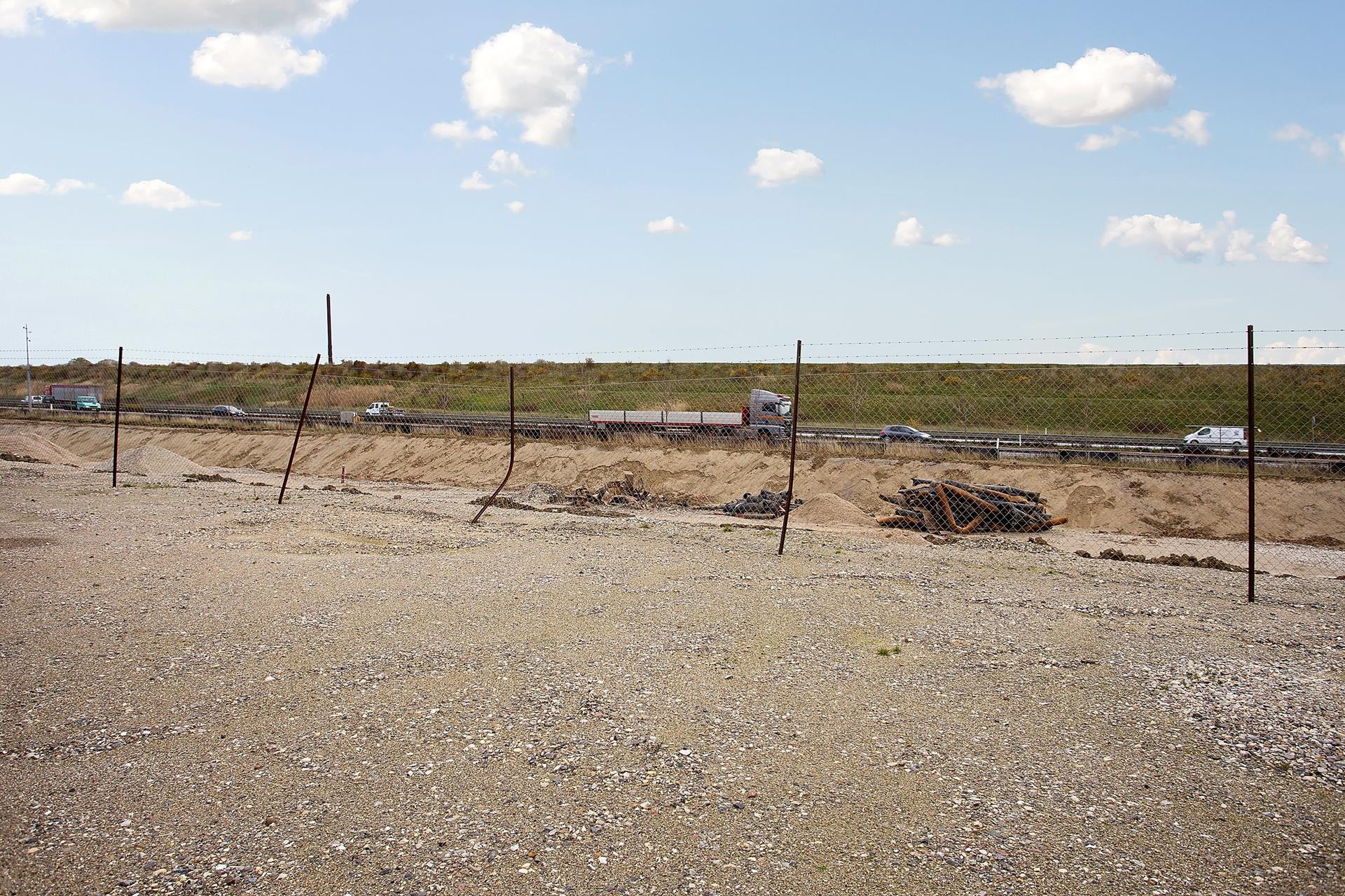 Erhvervsgrund på Ventrupparken i Greve - Udenomsarealer