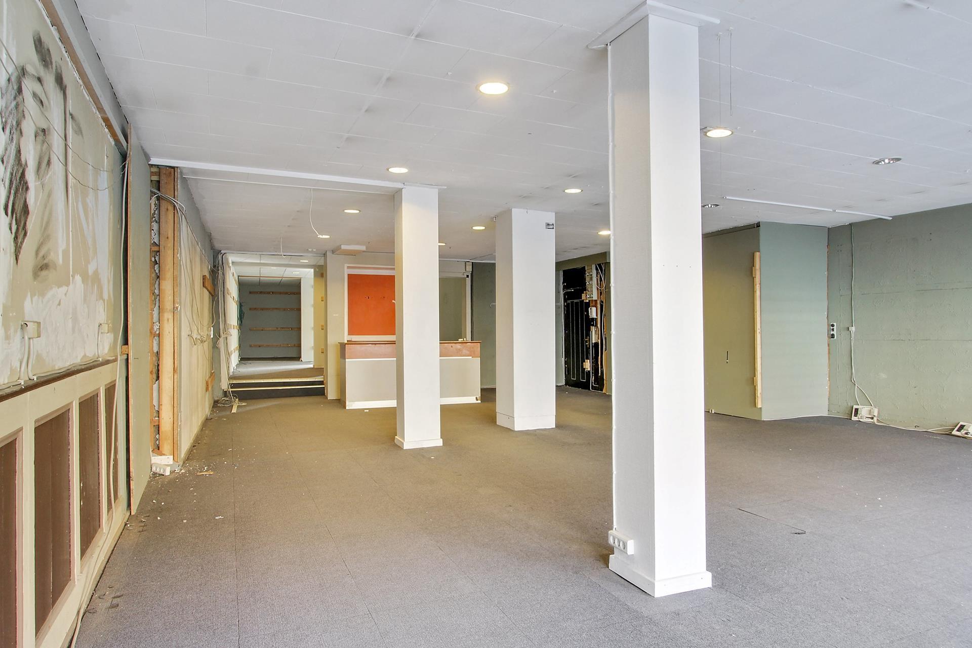 Detail på Brogade i Køge - Forretningslokale