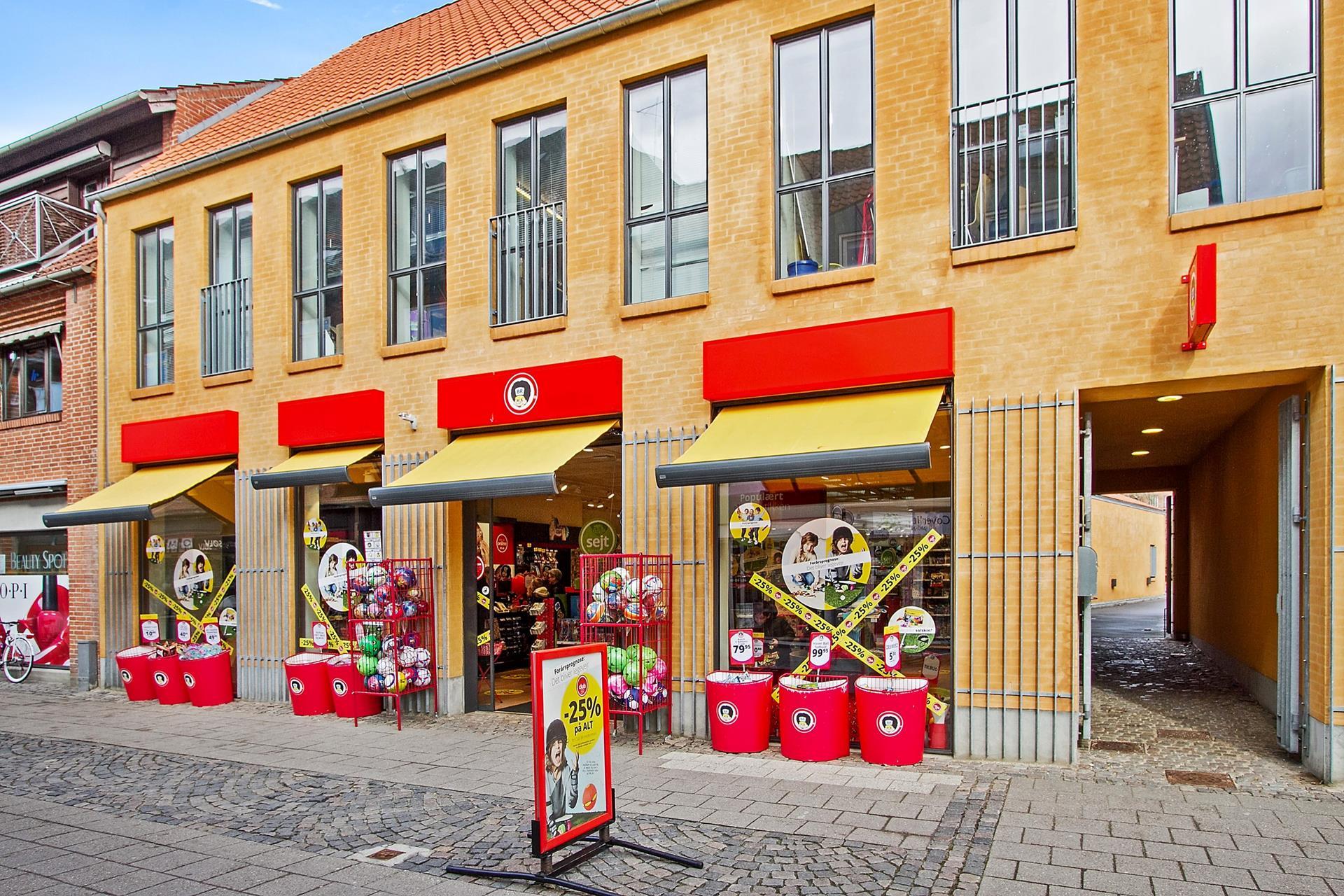 Detail på Jernbanegade i Frederikssund - Facade