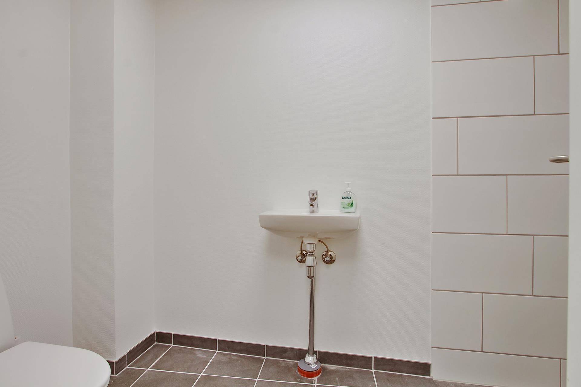 Detail på Ringstedgade i Roskilde - Toilet