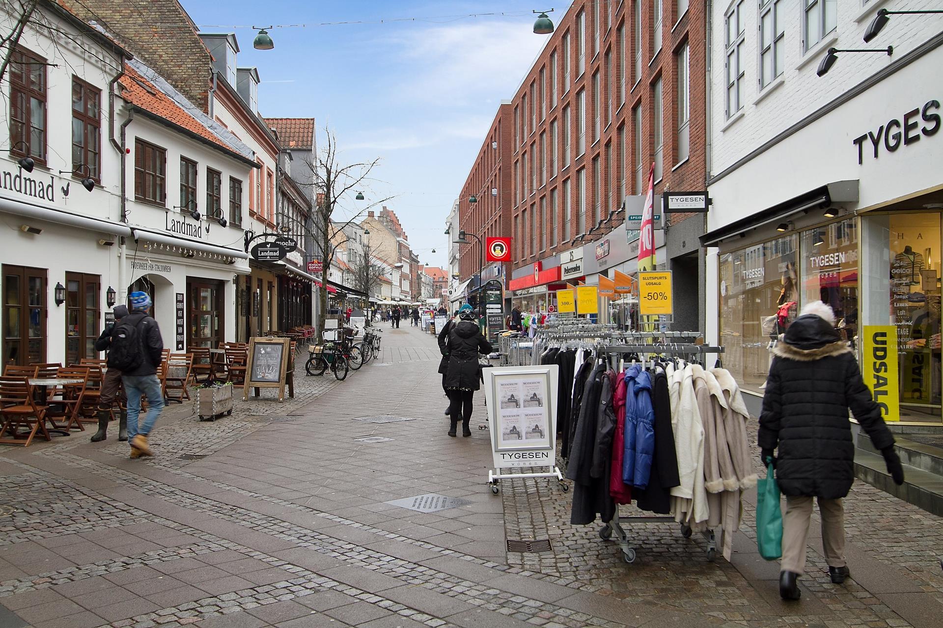 Detail på Ringstedgade i Roskilde - Ejendommen