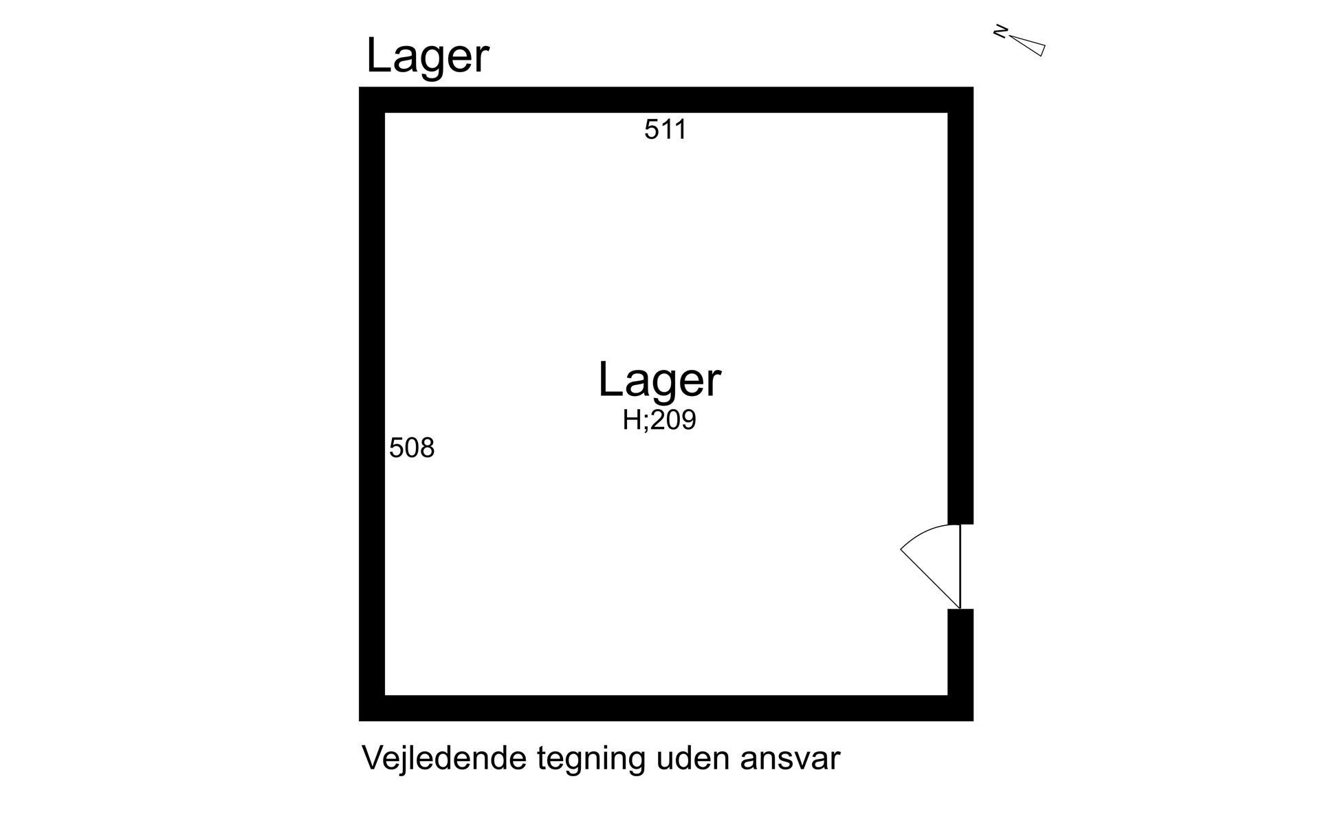 Detail på Vestergade i Køge - Loft